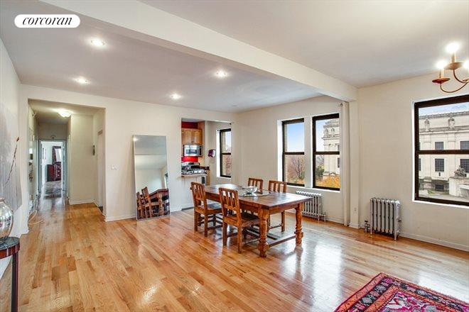 175 Eastern Parkway, 6C, Open and expansive