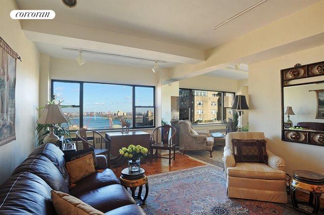 Living Room 86 Street corcoran, 510 east 86th street, apt. 20c, upper east side real