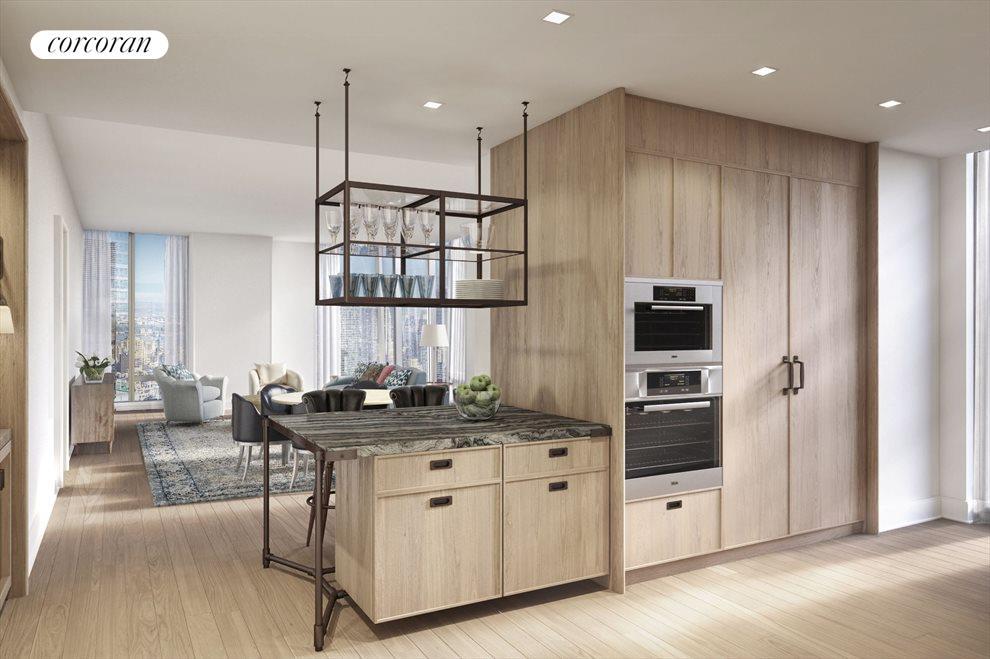 Custom designed cabinetry by Molteni