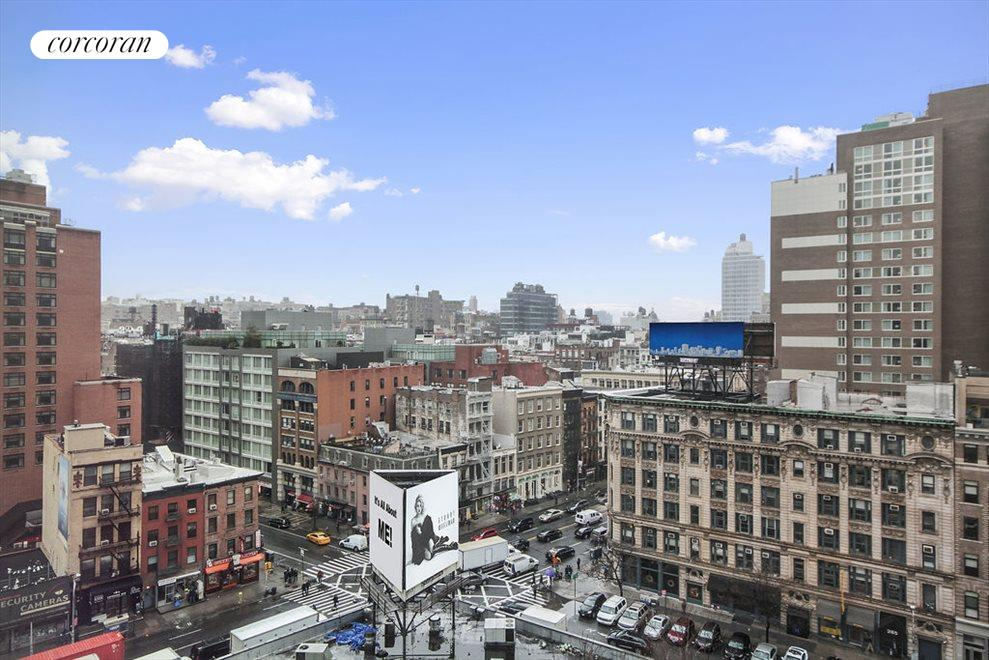 Endless, open views of Tribeca & Soho