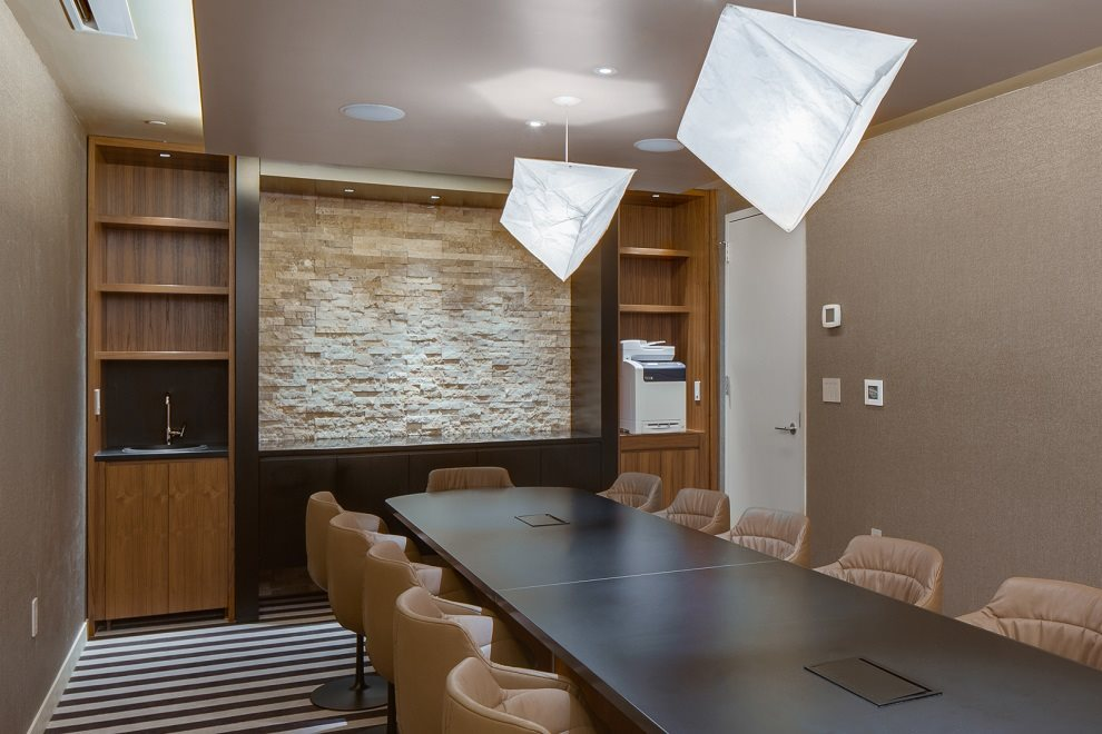 The Fully Equipped Conference Room