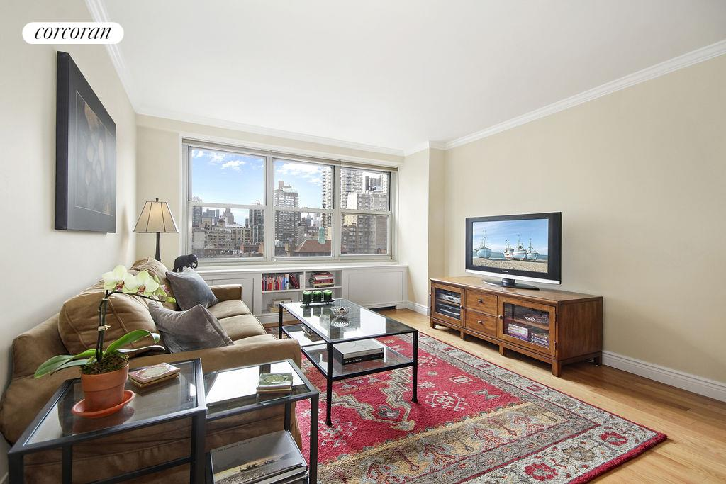 Corcoran 444 east 84th street apt 9a upper east side for Living room 86th street
