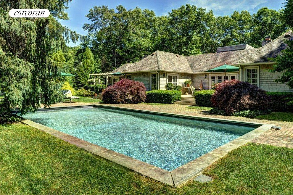 Heated Pool with complete privacy and stunning grounds