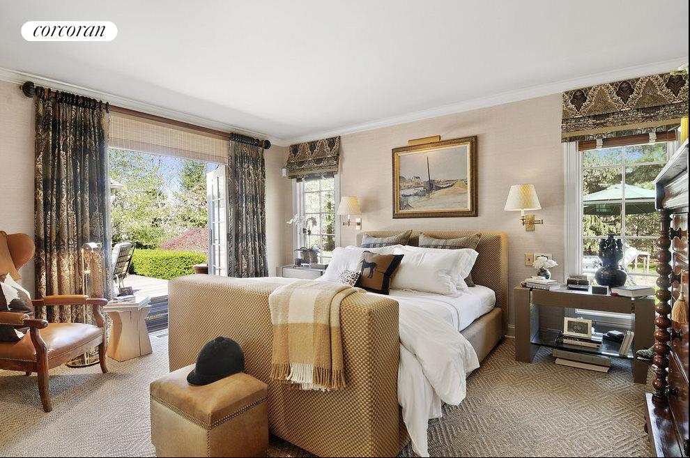 Master suite opens to the outdoors