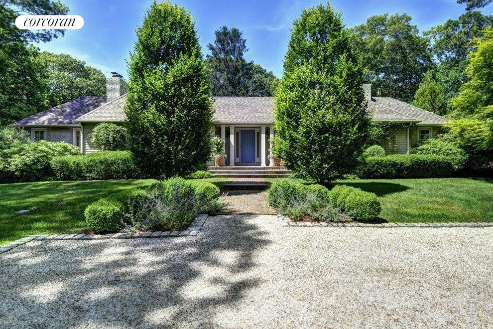 Beautiful entrance with private gate and ample parking