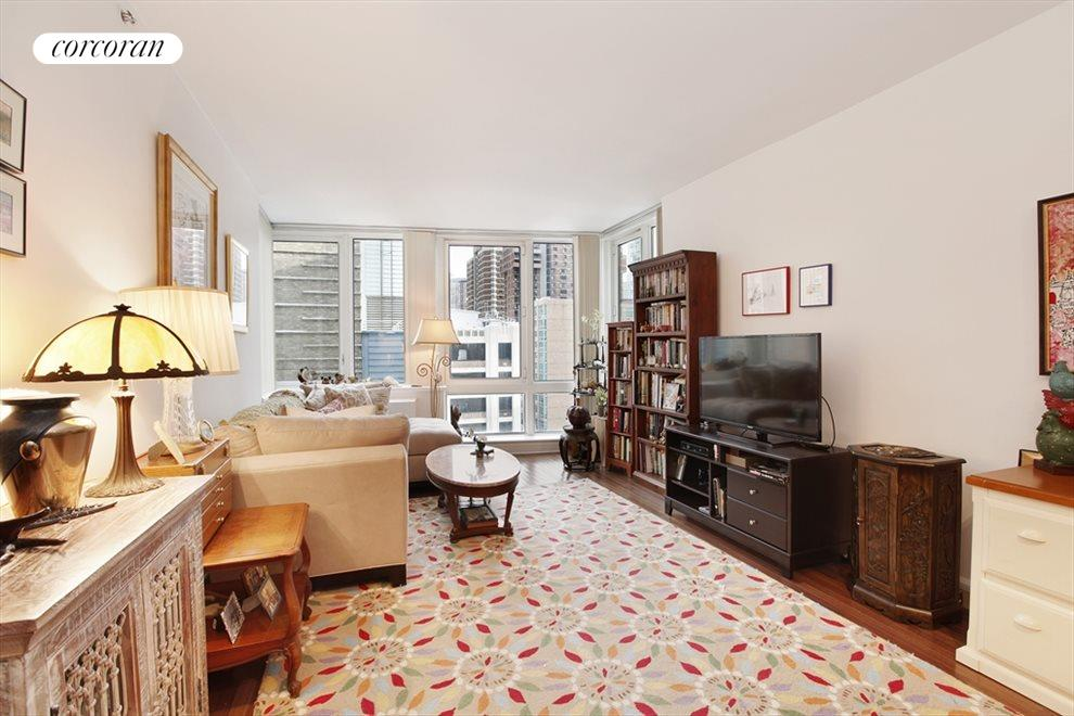 New York City Real Estate | View 120 Riverside Blvd, #11M | Living Room