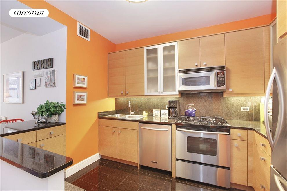New York City Real Estate | View 120 Riverside Blvd, #11M | Kitchen