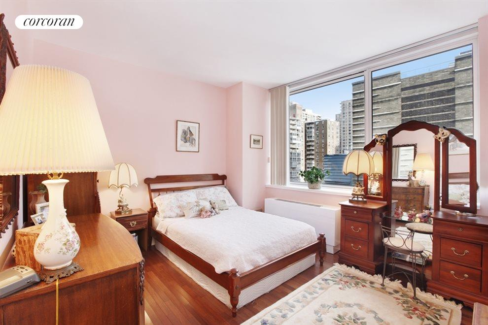 New York City Real Estate | View 120 Riverside Blvd, #11M | Master Bedroom as exists