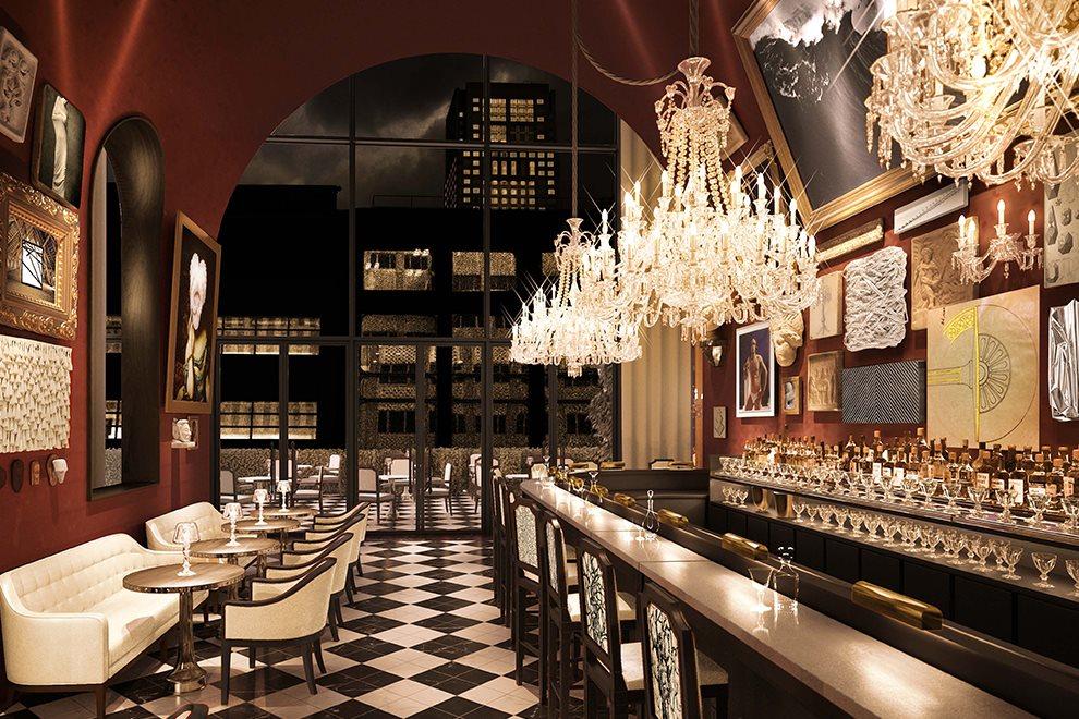 Hotel Bar designed by Gilles and Boissier