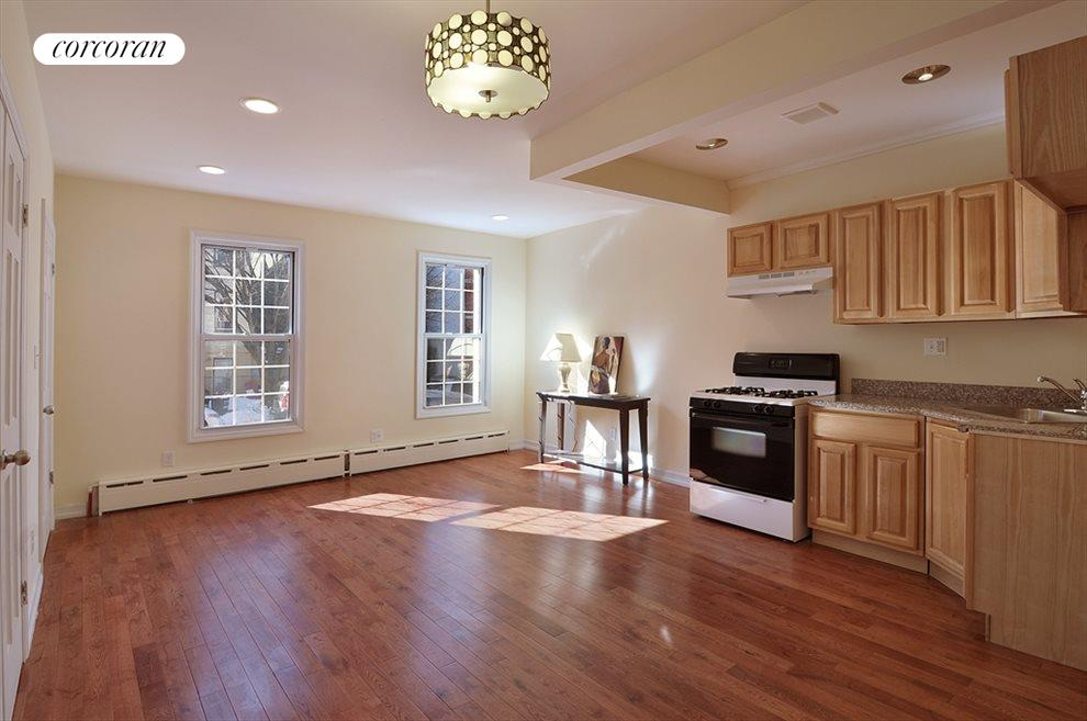 New York City Real Estate | View 337A 22ND ST | Kitchen / Living Room