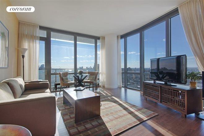 101 West 24th Street, 26B, Large living room - panoramic view West and South!