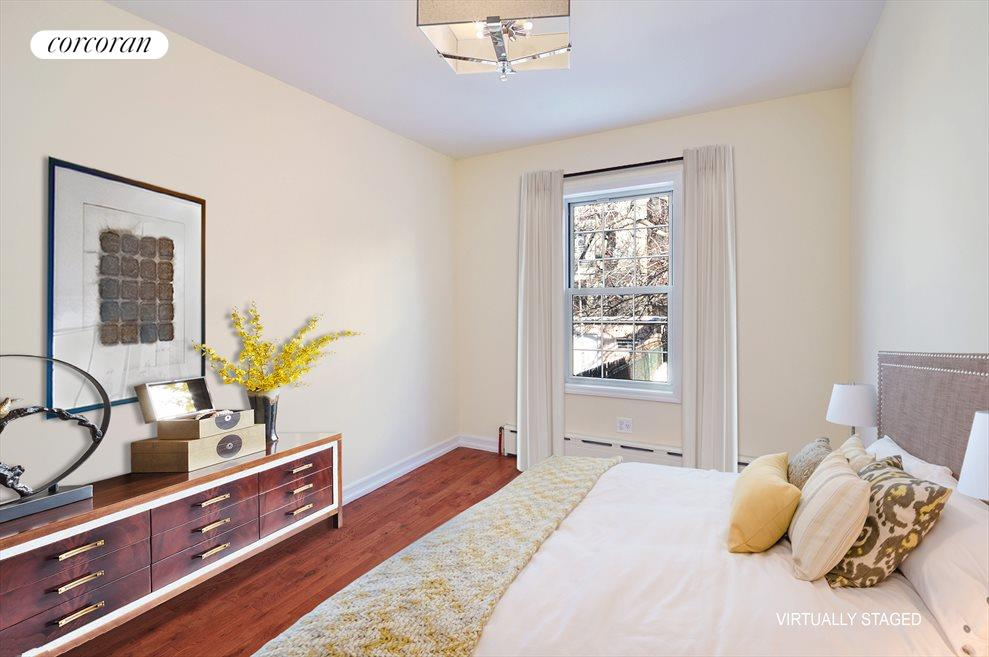 New York City Real Estate | View 337A 22ND ST | Virtually Staged Bedroom