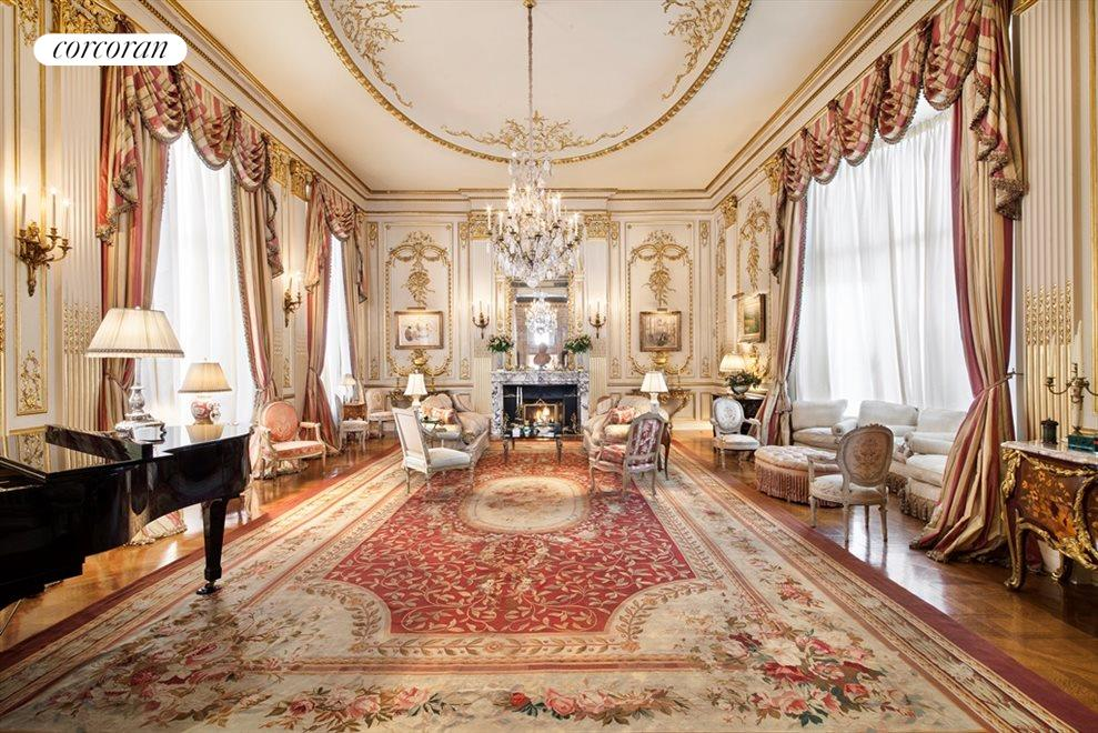 New York City Real Estate | View 1 East 62nd Street, #PH | Ballroom