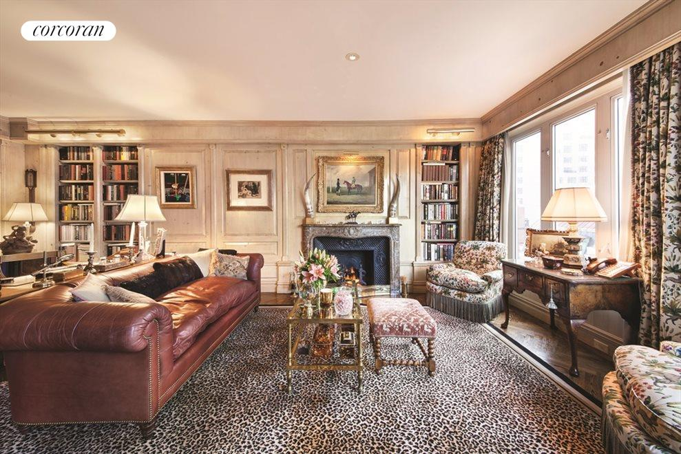 New York City Real Estate | View 1 East 62nd Street, #PH | Library