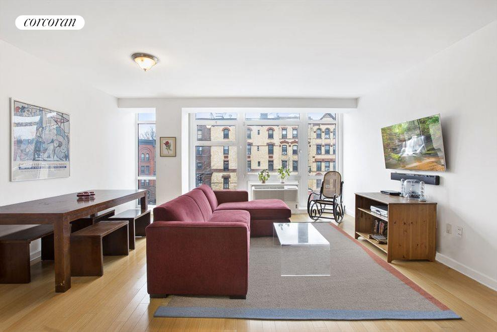 Living & Dining Room w/ Northeastern Exposure