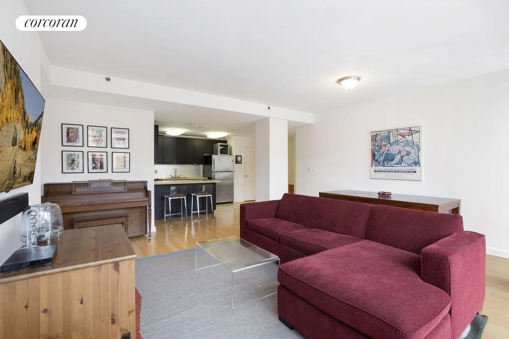 145 Park Place, 4G, Living & Dining Room w/ Northeastern Exposure