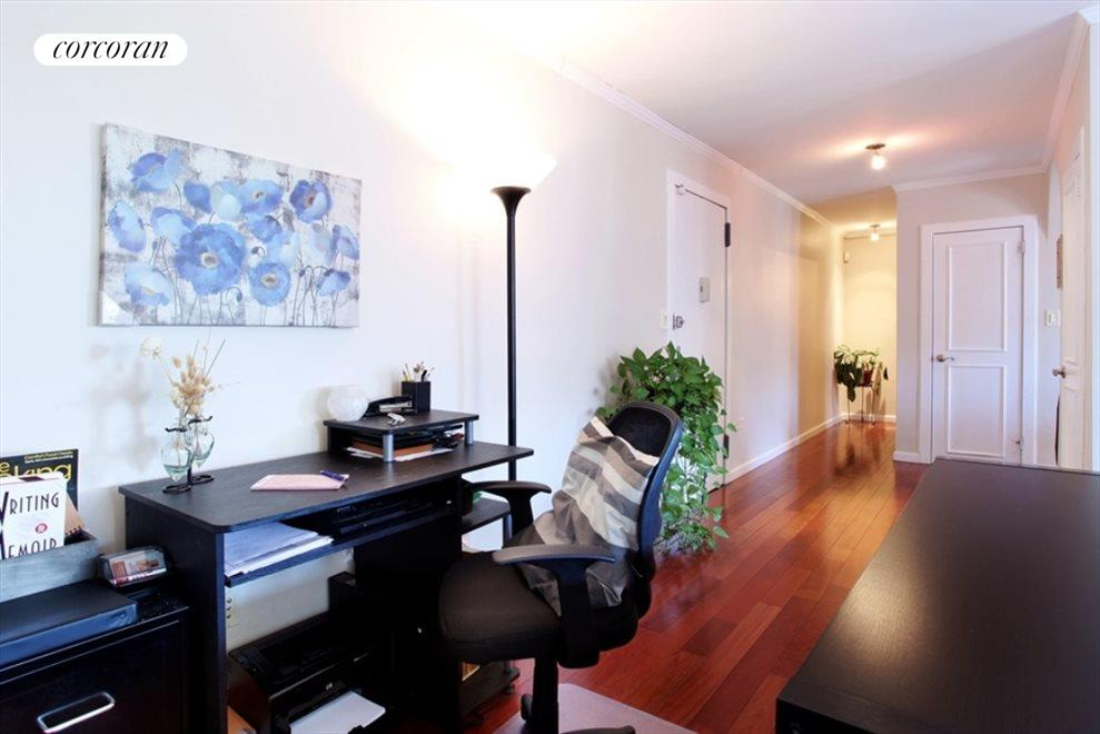 Foyer with Office set up