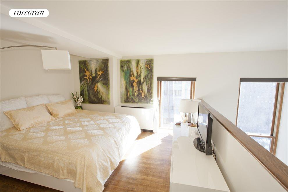 Private Master Bedroom with bright open views