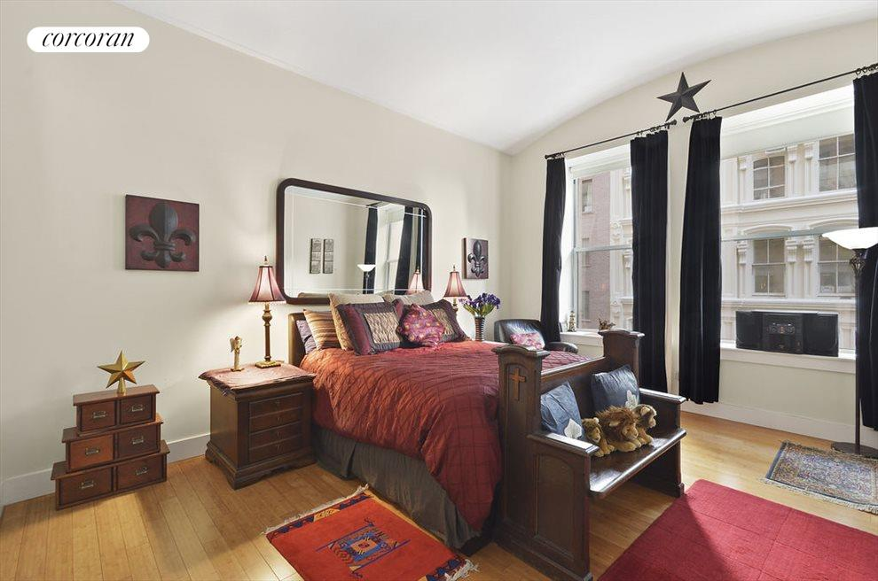 A total of three bedrooms