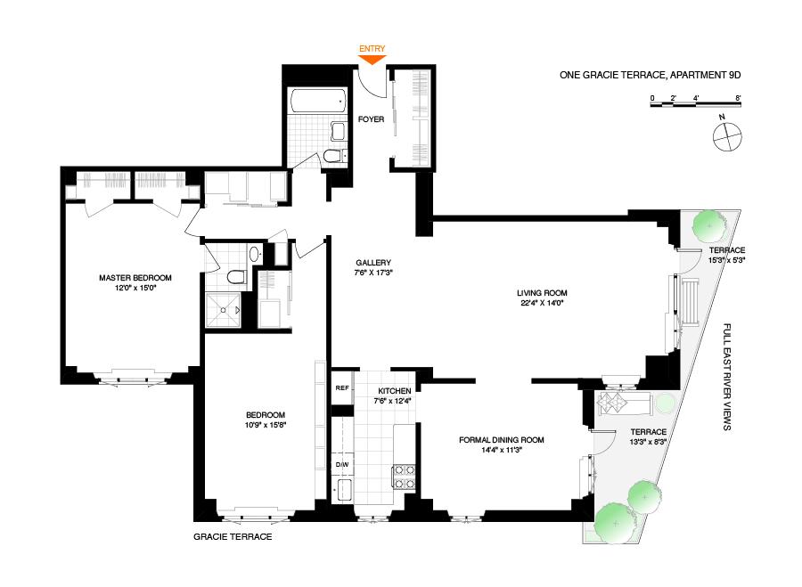 1 gracie terrace 9d yorkville new york realdirect for 1 gracie terrace new york ny