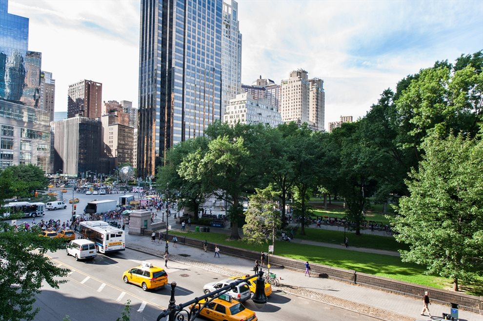 Columbus Circle & Central Park