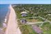 Montauk, aerial of huge building envelope
