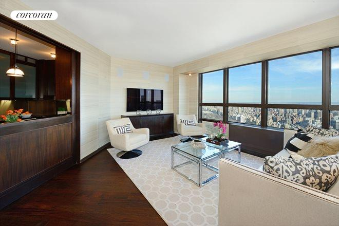 146 West 57th Street, 72C, Living Room