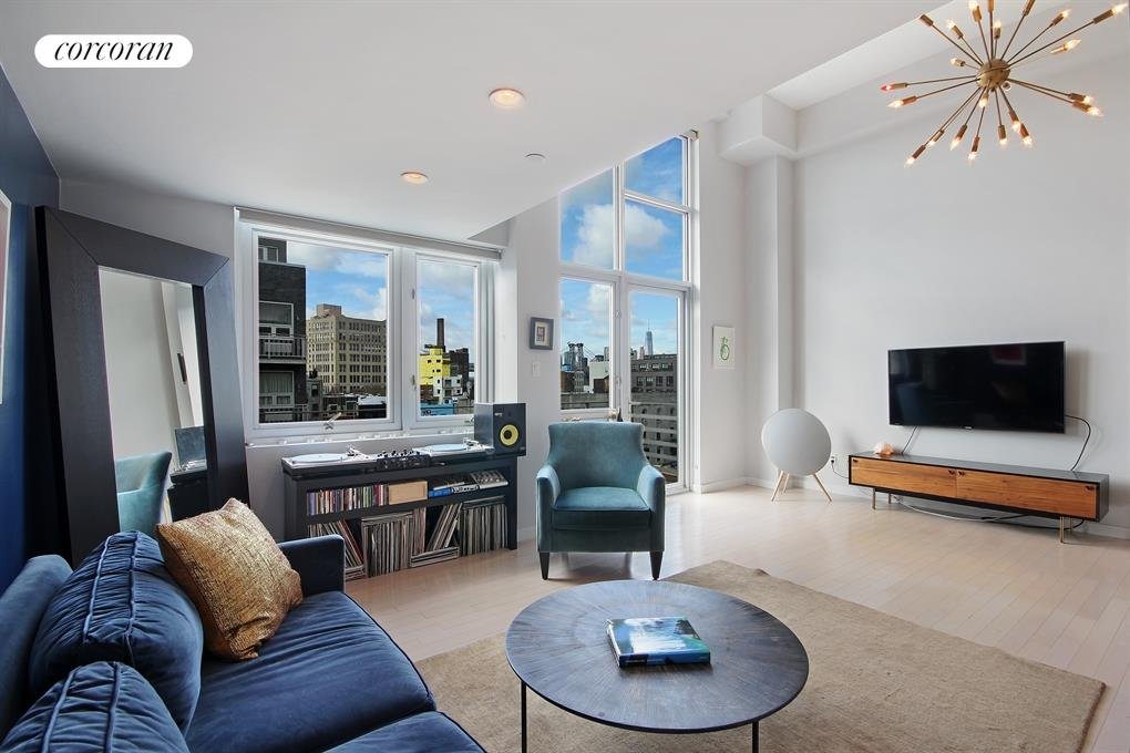100 North 3rd Street, 4D, Living Room