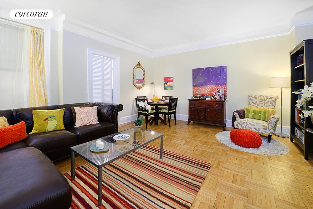 176 West 87th Street, 8E, Living Room