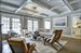 124 West Henry Street, Gorgeous living room with coffered ceiling and views to garden