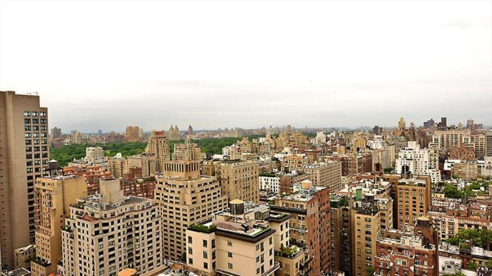 Amazing Central Park views from common roof deck.
