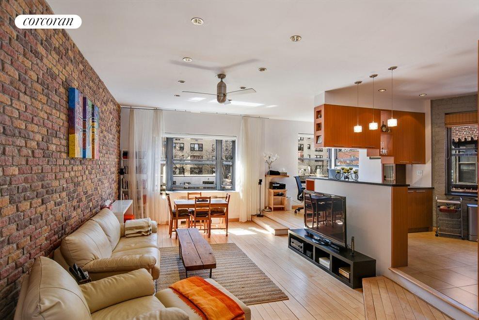 Spacious open loft-like apartment