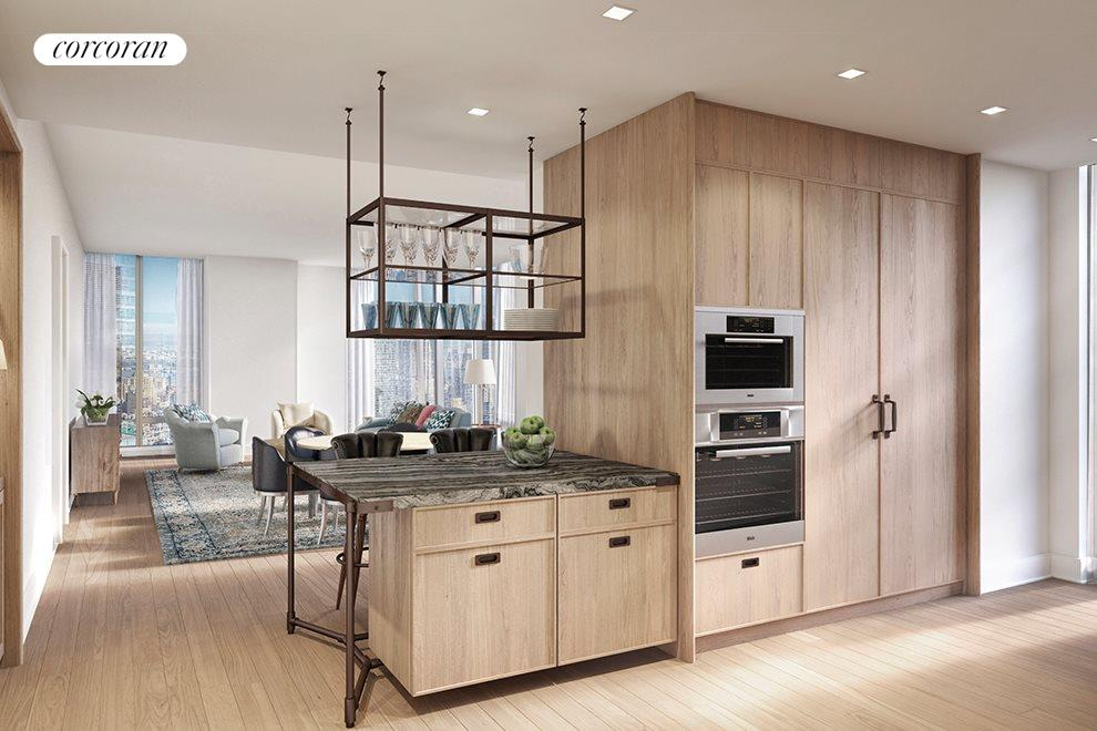 Custom designed cabinetry by Molteni