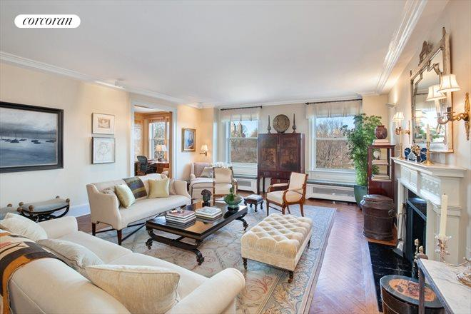 1150 Fifth Avenue, 6B, Living Room