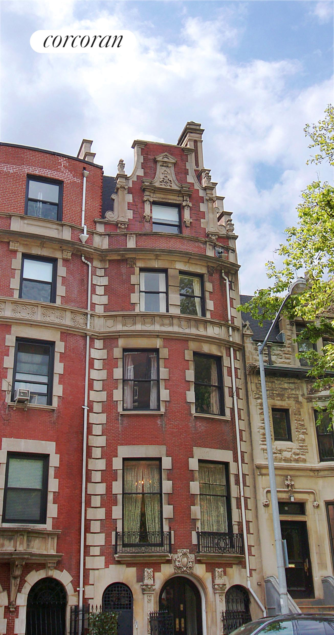 Corcoran 627 west end avenue upper west side real estate for Upper west side townhouse for sale