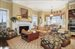 416 Beachcomber Lane, Casual Living Room With Fireplace And Breakfast Area