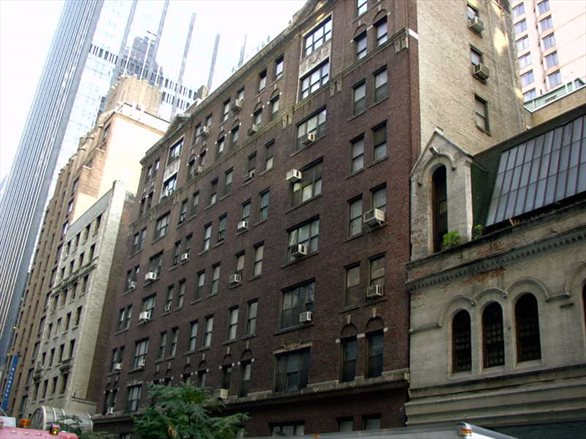 150 West 55th Street, PHSE, Front View