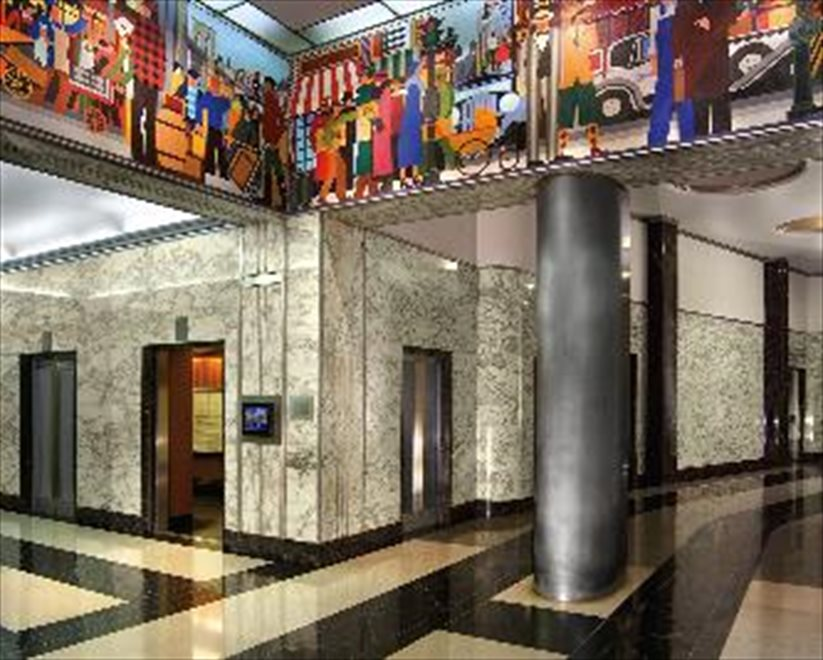 Gorgeous Art Deco Lobby