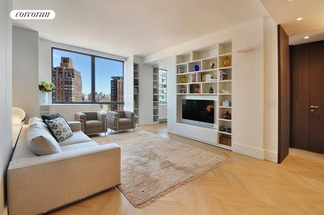 1965 Broadway, 24D, Living Room with Partial Park Views