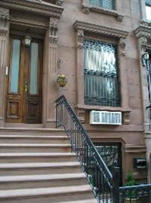 restored brownstone home