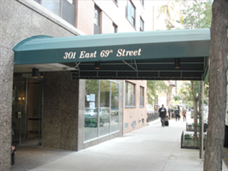 301 East 69th is on a lovely tree-lined block!