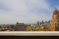 Roof deck view