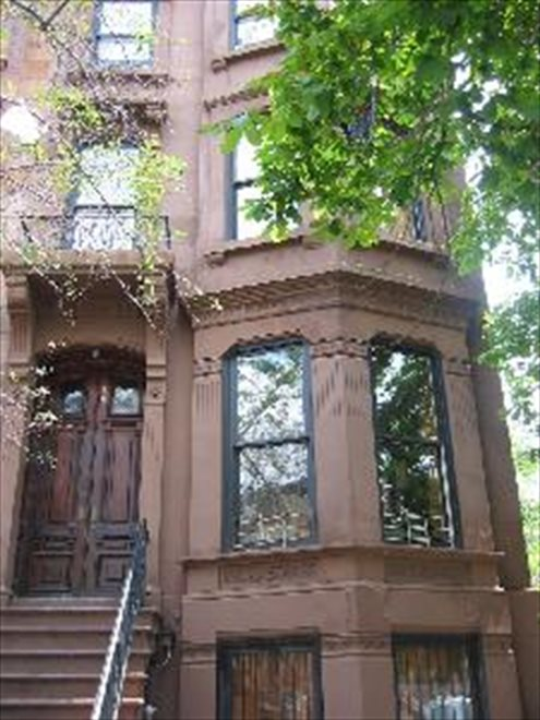 Landmarked Brownstone on 7th Avenue
