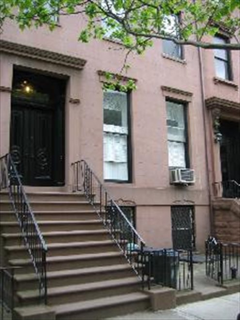 Front Stoop of the 25 foot wide Brownstone