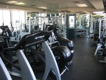 Well Maintained Fitness Room