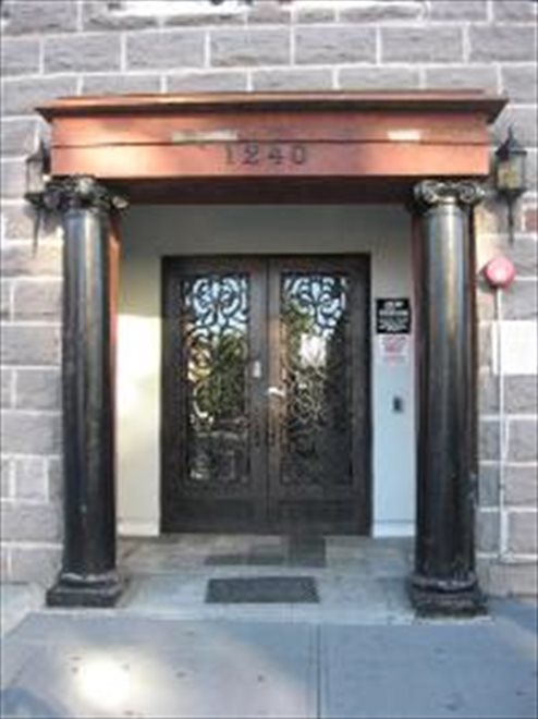1240 Bedford Ave. Building Entrance