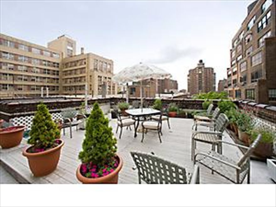 New York City Real Estate | View 225 West 25th Street, #2J | Serene Common Roofdeck