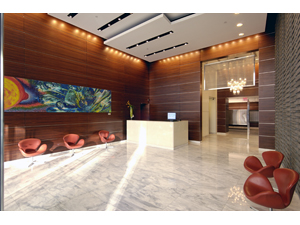 The Orion Condominium's Lobby