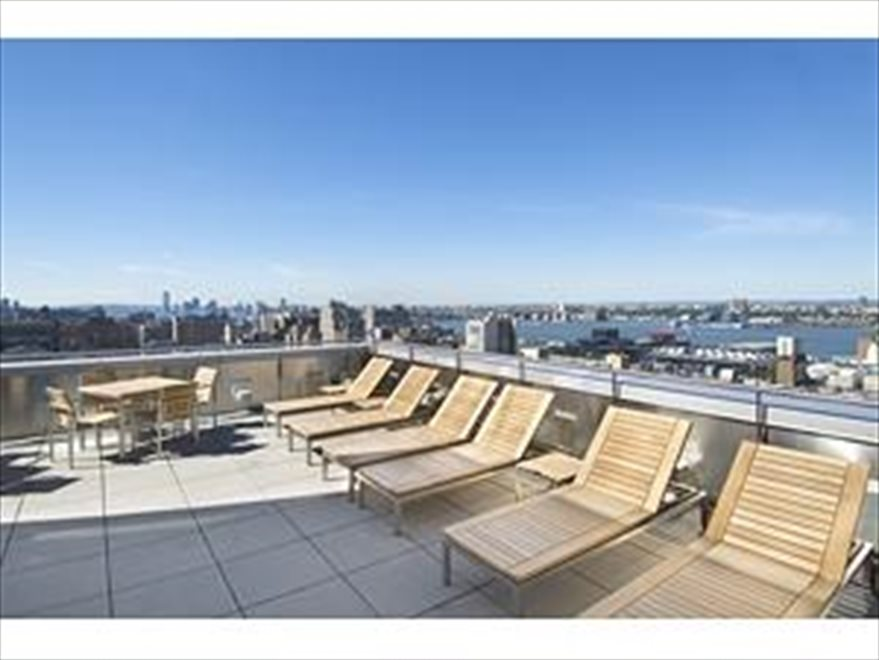 The Orion Condominium's Sun Deck