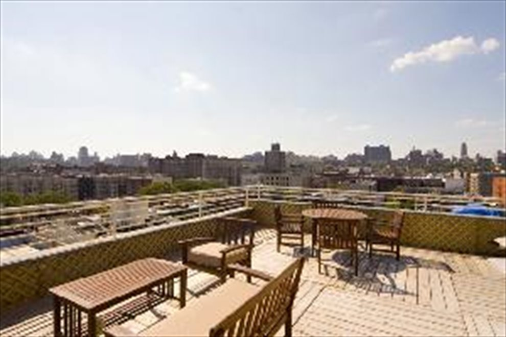 New York City Real Estate | View 100 West 119th Street, #6A | Common Roof Deck